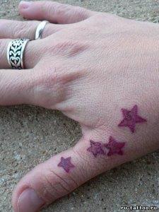 на пальце звезда (1)