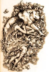 волк эскиз (8)