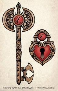 замок и ключи (14)
