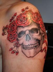 тату роза на руке (8)