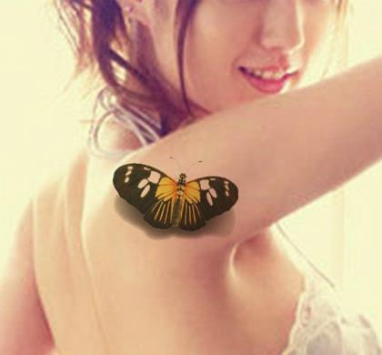 женские тату на плече