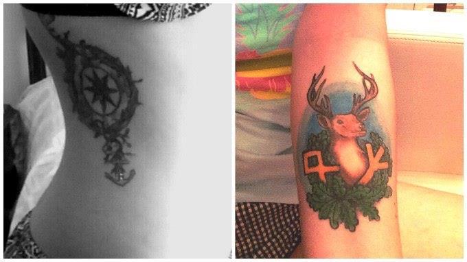 Как сделать себе татуировку на месяц в домашних условиях 326