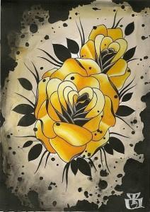 роза тату (2)