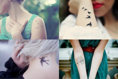 Татуировки для девушек, идеи-4