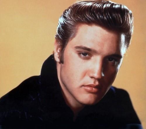 """Элвис Пресли (Elvis Presley). Король, несомненно король. См. выше """"Джеймс Дин"""". Изображение № 78."""