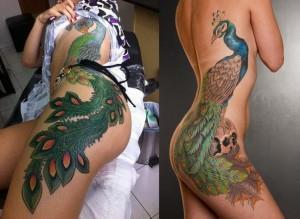 6L2O9KxITHQ 300x219 Модные татуировки для девушек 2014