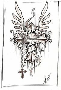эскизы крест (2)