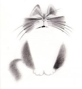 тату кот (4)