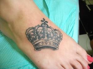 на ноге корона (4)