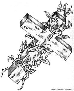 эскизы крест (9)