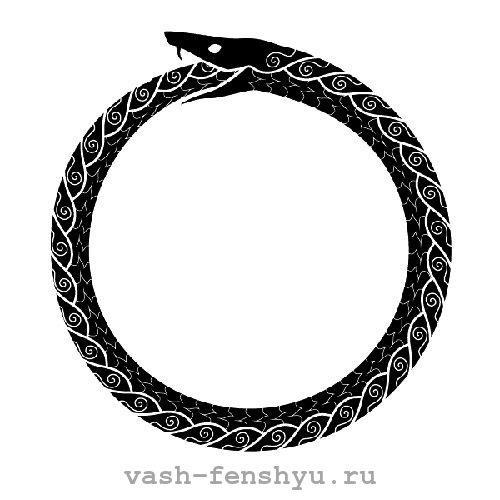 символ бесконечности значение в фен шуй круг