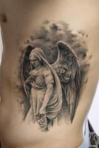 Ангелы татуировки