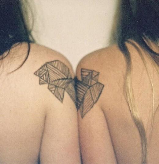 татуировка для двоих