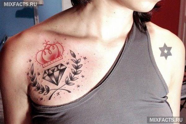 идеи татуировки в виде короны
