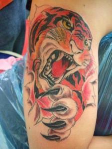 Татуировки тигров