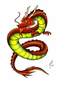 дракон китайский (2)