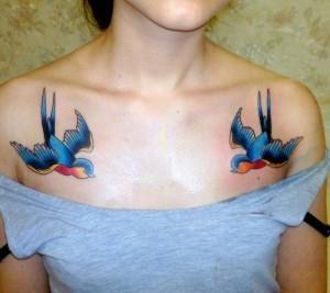 ласточка на груди (2)