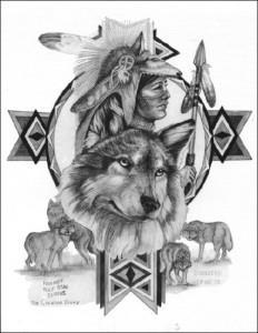 волк эскиз (17)