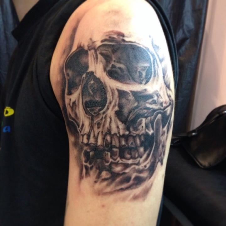 Татуировка Череп значение у парней
