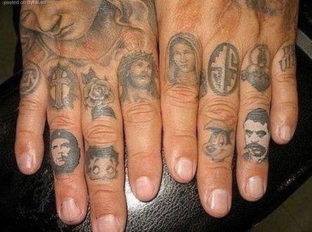 Обозначение тюремных татуировок