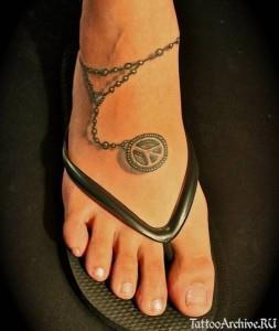 браслет на ноге (2)