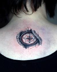 значение татуировки компаса