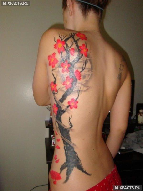 татуировки деревьев