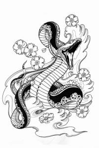 змея эскизы (13)