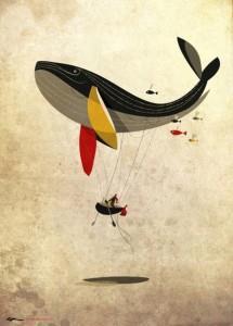 тату эскизы кита (8)