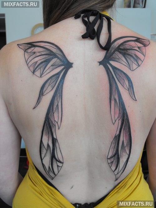 татуировка дракона для девушки