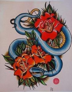 змея эскизы (12)
