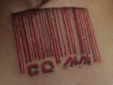 татуировка штрихкод значение фото