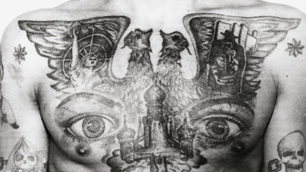 Тайные значения тюремных татуировок