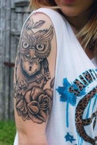 ключи и замки татуировки (16)