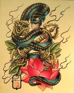 змея эскизы (4)