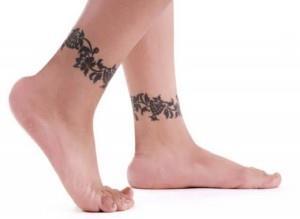 браслет на ноге (3)