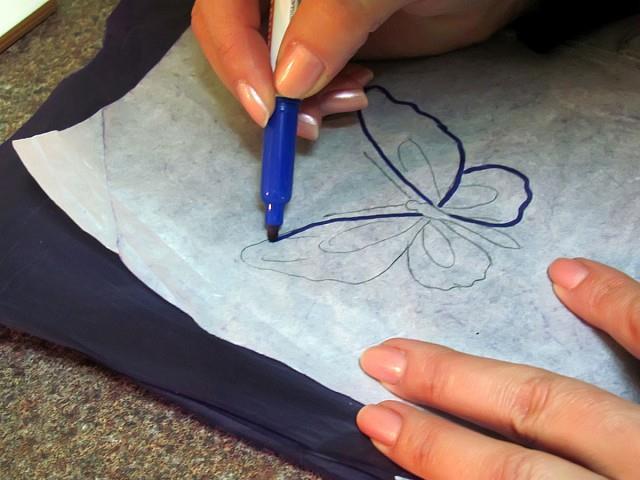 как перевести картинку на тело с бумаги
