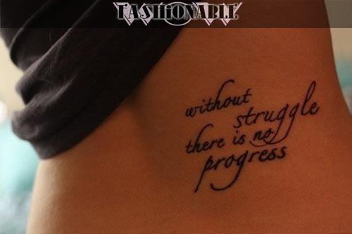 татуировка со словами фото