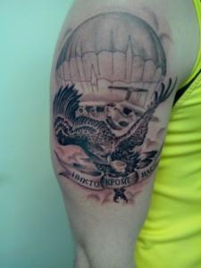 Армейские татуировки (значение, эскизы, фото)