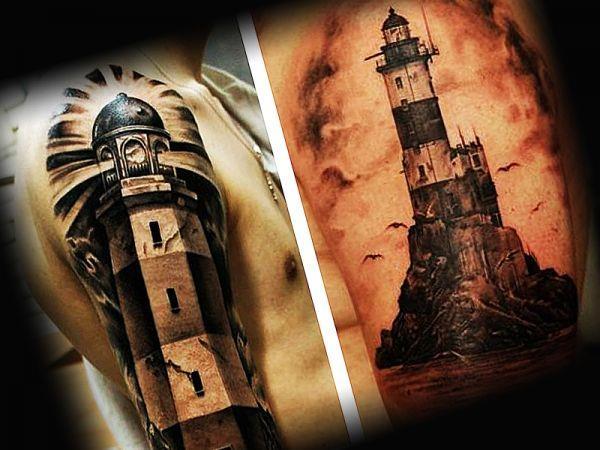 Татуировка моряка на руке