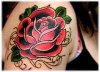 Значение татуировки розы