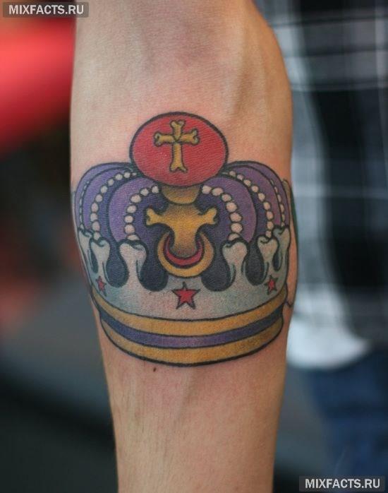 красивые татуировки короны