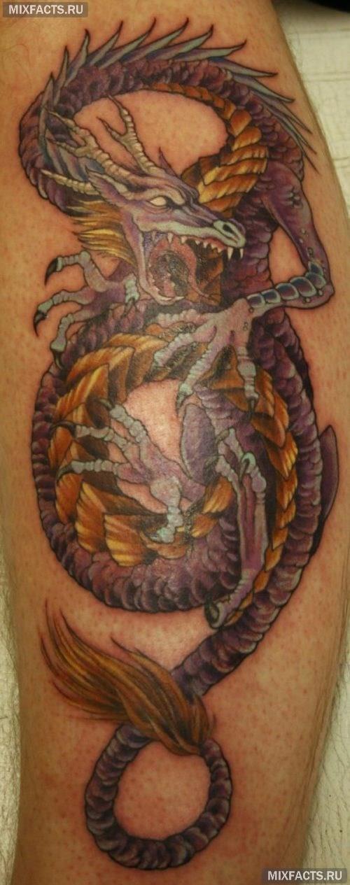 значение татуировки драконов