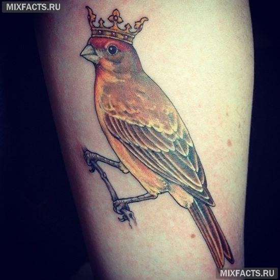 татуировка короны