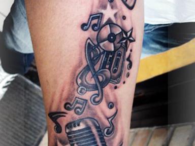 татуировка скрипичный ключ значение фото