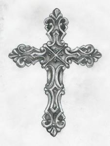эскизы крест (13)
