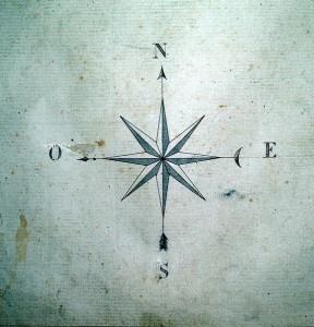 тату компас (1)
