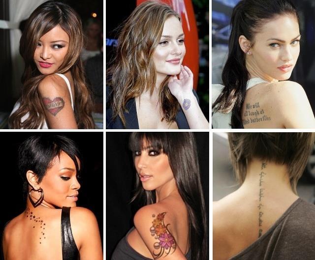 Красивые татуировки для девушек фото