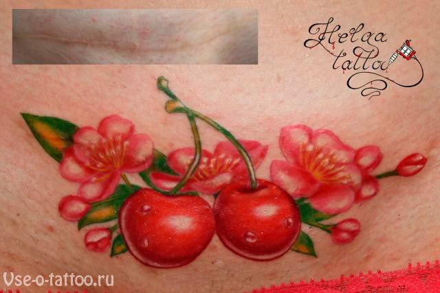 Перекрытие-шрамов-татуировкой