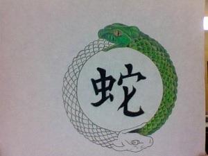 змея эскизы (15)